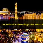 ASNR 2020 Pediatric Outstanding Presentation Award